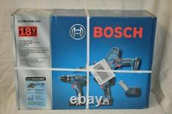 Bosch Clpk495-181 Kit Combo Sans Fil Lithium-ion 18 Volts Avec Boîtier Souple Neuf