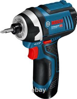 Bosch Gdr10.8v-li Cordless Impact Driver Drilling Professional Tool Corps Uniquement