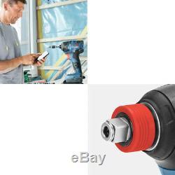 Bosch Gdr 18v-200c Perceuse À Percussion 200nm 3,400rpm 126mm Ec Brushless Nu Outil Uniquement