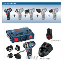 Bosch Gsr 10,8 V-15 Fc Visseuse Sans Fil Professionnel Nu-tool + L-boxx + Chargeur