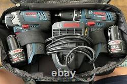 Bosch Power Tools Combo Kit Clpk22-120 Jeu D'outils Sans Fil 12 Volts Perceuse/conducteur