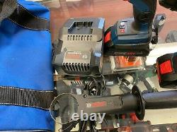 Clpk223-181 Bosch 18v 2-tool Combo Kit 1/4 &1/2 In. Two-in-one Bit/socket