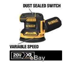 Dewalt 20-volt Max Lithium-ion Kit Sans Fil Combo (7-tool) Avec Toughsystem Case