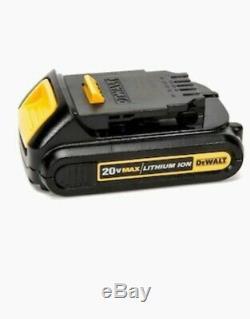 Dewalt 2-outil 20 Volt Max Brushless Power Tool Kit Combo Avec Chargeur Case Souple