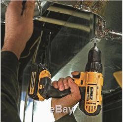 Dewalt 2-outil 20 Volt Max Brushless Power Tool Kit Combo Avec Étui Souple