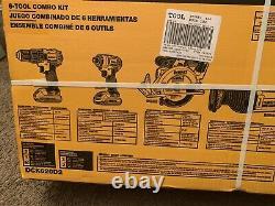 Dewalt Compact 6-tool Combo Kit Dck620d2 Nouveau