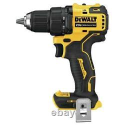 Dewalt Dcd708b 20 Volt 1/2 Pouces Brushless Driver Drill Compact Atomique, Outil Nu