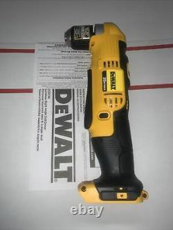 Dewalt Dcd740b 20 Volts 3/8 Droit Angle Drill Driver Bare Outil Nouveau 2 Vitesse