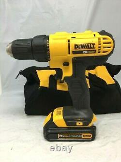 Dewalt Dcd771c2 20v Max Lithium-ion 1/2 Compact Drill/driver Tool Kit Fm029