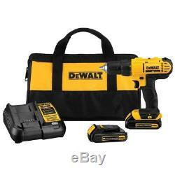 Dewalt Dcd771c2 20v Max Lithium-ion 1/2 Drill Compact / Driver Tool Kit