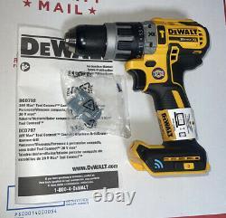 Dewalt Dcd797 Outil Connect 20v Max Brushless 1/2 Hammer Driver Drill Nouveau
