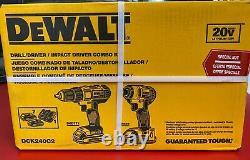 Dewalt Dck240c 20v Max Power Tool Compact Combo Kit