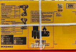 Dewalt Dck240c 20v Max Power Tool Kit Combo Compact