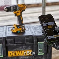 Dewalt Dck2500p2b De L'outil Bluetooth Brushless Connect 2 Pièces Kit 2 X 5.0ah