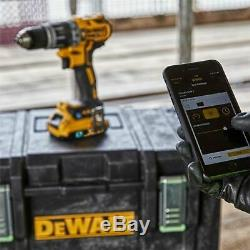 Dewalt Dck2500p2b De L'outil Bluetooth Brushless Connect Twin Pack 2 X 5.0ah Bay50