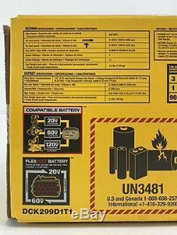 Dewalt Dck299d1t1 Flexvolt Li-ion Sans Fil Brushless Combo Tool Kit (30319-1)
