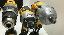 Dewalt Dck351m2 20v Sans Fil 3 Outil Hammer Foret&impact Driver Combo Kit N