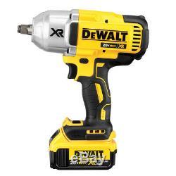 Dewalt Dck397hm2 20-volt 3-tool Grease Gun Et L'impact Pilote Kit Combo