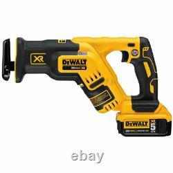 Dewalt Dck487d1m1 20v Max Xr Sans Brosse Lithuim-ion 4-tool Combo Kit