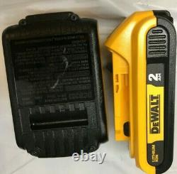 Dewalt Dck489d2 20v Max Lith Atomic Brushless 4-tool Combo Kit Ln