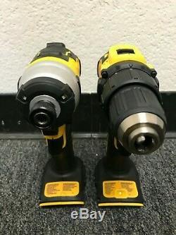 Dewalt Dck489d2 20v Max Lith-ion Atomique Brushless 4-tool Combo Kit, Gl110