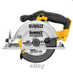 Dewalt Dck521d2 20-volt 5 Outil Perceuse / Tournevis / Sawithgrinder Et Light Kit Combo