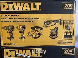 Dewalt Dck560d1m1 20v Brushless 5 Outil Combo Kit Nouveau