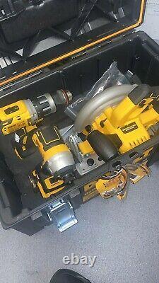 Dewalt Dck623p3 18v Xr Brushless Compact 6 Pieces Kit 3 X 5.0ah 2x Outils Boxes