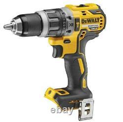 Dewalt Xr Cordless 18v Brushless Combi Drill Impact Driver Multi Tool Torch