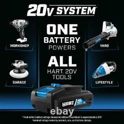 Hart 20-volt 4-tool Lifestyle Kit (2) 20-volt 2.0ah Lithium-ion Batteries