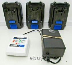Hart 20v 7pc Sans Fil Power Tool Set 3 Batt. Packs Sac De Transport