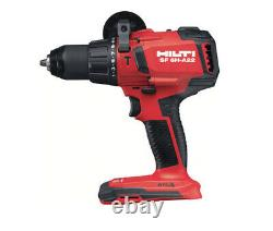 Hilti Sf 6h-a22 Hammer Drill Driver Cordless, 1/2 In. 22-volt Lith-ion, Bare Tool