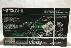 Hitachi 18-volt 4-tool Power Combo Kit Withsoft Case 2-batteries +chargeur Inclus