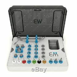 Kit Chirurgical Complet, De Haute Qualité, Forets, Conducteurs, Ratchet, Implants Dentaires, Outils