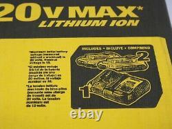Kit Combo Lithium-ion 4-tool Sans Fil Dewalt Dck421d2 20v Max