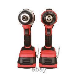 Kit D'outils D'alimentation Sans Fil 3 Pièces Excel 18v + 3 X Chargeur Et Boîtier De Batteries Exl5145