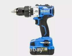 Kobalt 2-tool 24-volt Max Brushless Power Tool Combo Kit Avec Chargeur & Batterie
