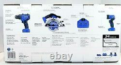 Kobalt 4-outil 24 Volts Max Lithium Lon Sans Fil Sans Fil