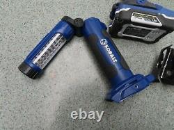 Kobalt 5 Outil 18v Lithium Ion Combo Sans Fil Kit De Forage Batterie De Scie À Impact Du Conducteur