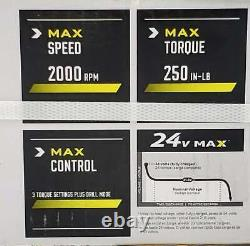 Kobalt Tools 24v À Andle Droite Perceuse/conducteur 1439332 (ps2001082) Scellé En Boîte Nouveau
