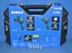 Kobalt Xtr 3-tool 24-volt Max Brushless Power Tool Combo Kit #1518746