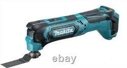 Makita 12v Cxt 3pc Kit Combi Hammer Drill + Impact Driver + Multi Tool 2 Batterie