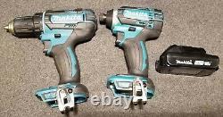 Makita Xfd10 1/2 Forage / Driver + Xdt11 Impact Driver 18v li-ion Tool Set Avec Sac