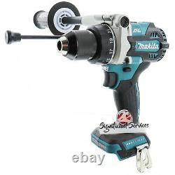 Makita Xph14z 18v Lxt Liion Brushless 1/2 Hammer Driver Drill (outil Seulement) Nouveau