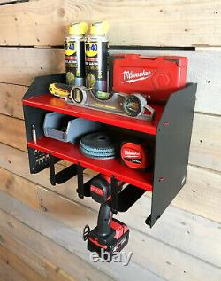 Megamaxx Power Tool Drill Driver & Angle Grinder Storage Workshop Unit Combo