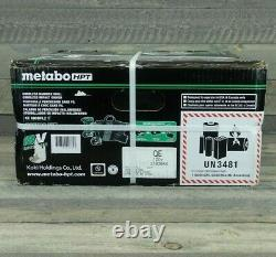 Metabo Hpt 18v 2 Outil Sans Pinceau Hammer Dril/impact Dril Kit 2 Batteries Et Boîtier
