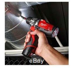 Milwaukee 2411-80 12v M12 Fuel Sans Fil 3/8 Po Perceuse Driver (outil Uniquement)
