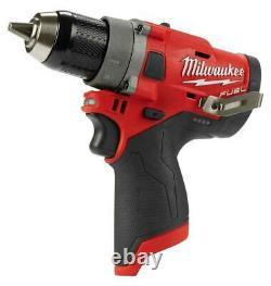 Milwaukee 2503-20 M12 Fuel 1/2 Sans Fil Drill Driver Brushless Tool Seulement Nouveau