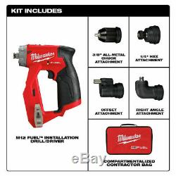 Milwaukee 2505-20 Installation Drill Pilote Nu Outil Avec 2.0 Batterie