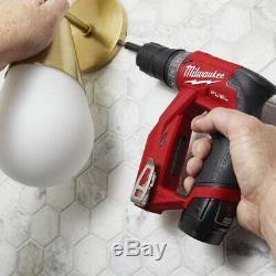 Milwaukee 2505-20 M12 Fuel Installation Brushless 4-en-1 Perceuse / Visseuse -bare Outil